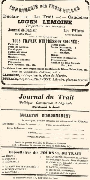 Journal de Duclair